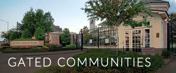 Houston Suburbs Gated Communities Homes for Sale